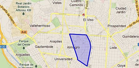Almagro barrio de madrid - Zona chamberi madrid ...