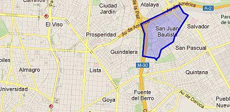 San Pascual barrio de Madrid  Enalquilercom