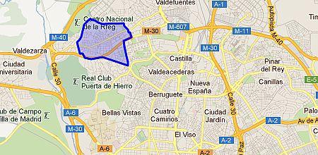 Pe agrande barrio de madrid for Barrio ciudad jardin madrid