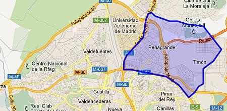 Barrio Hortaleza Madrid Mapa.Valdefuentes Barrio De Madrid Enalquiler Com