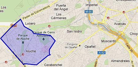 Aluche barrio de Madrid  Enalquilercom