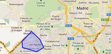 Mapa Las �guilas