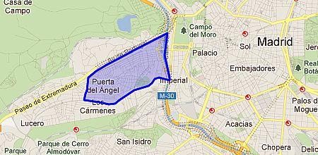 Puerta del ngel barrio de madrid - Inem puerta del angel ...