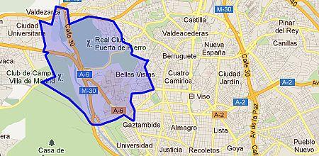 Ciudad universitaria barrio de madrid for Barrio ciudad jardin madrid
