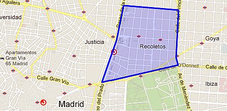 Barrio salamanca madrid map - Barrio salamanca madrid ...