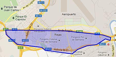 Mapa Rejas