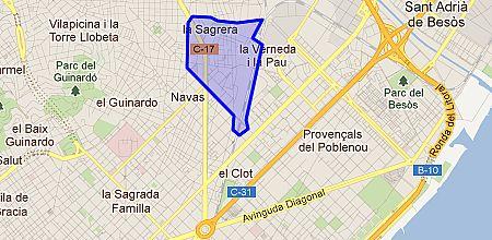 la sagrera barrio de barcelona