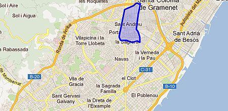 Mapa Sant Andreu