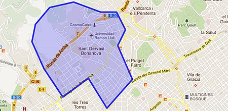 Sant gervasi bonanova barrio de barcelona - Tanatori sant gervasi barcelona ...
