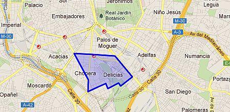 Delicias barrio de madrid for Pisos en delicias madrid