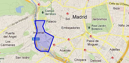 Imperial barrio de madrid - Paseo imperial madrid ...